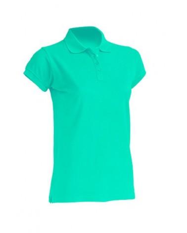POLO LADY ALGODON M/C Color MG Mint Green