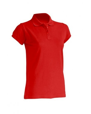 POLO LADY ALGODON M/C Color RD Red