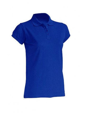 POLO LADY ALGODON M/C Color RB Royal Blue