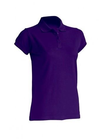 POLO LADY ALGODON M/C Color PU Purple