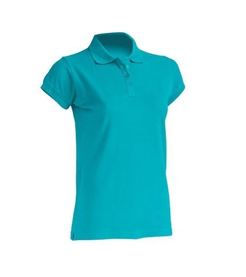 POLO LADY ALGODON M/C Color TU Turquoise