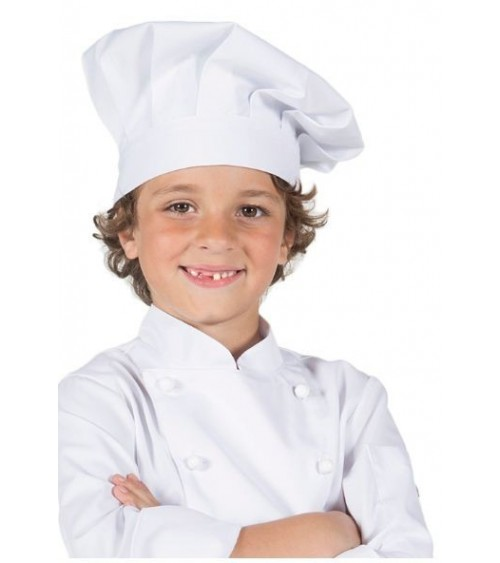 Gorro Chef Junior Blanco