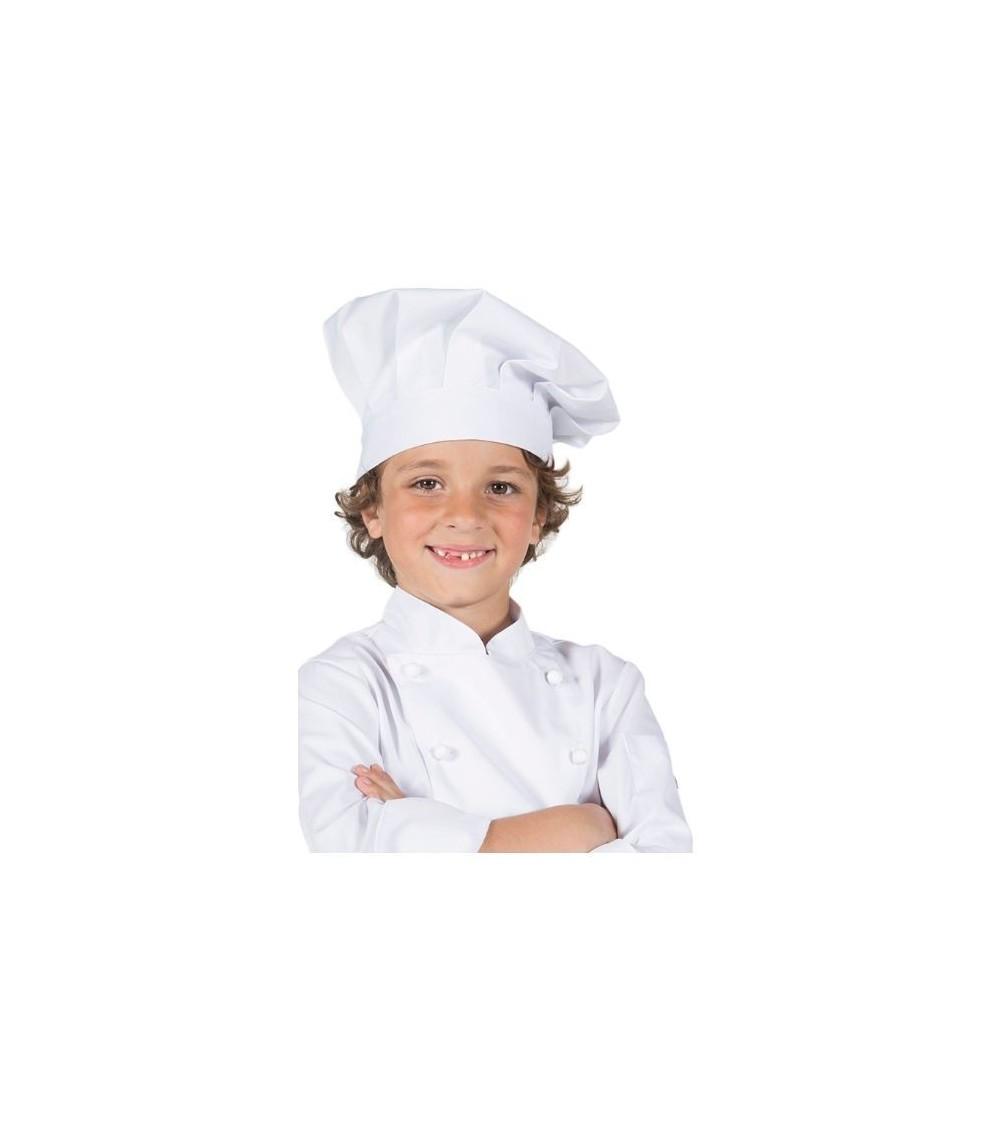 Gorro Chef Junior Blanco