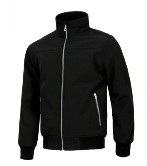 CHAQUETA WORKSHELL NEGRA