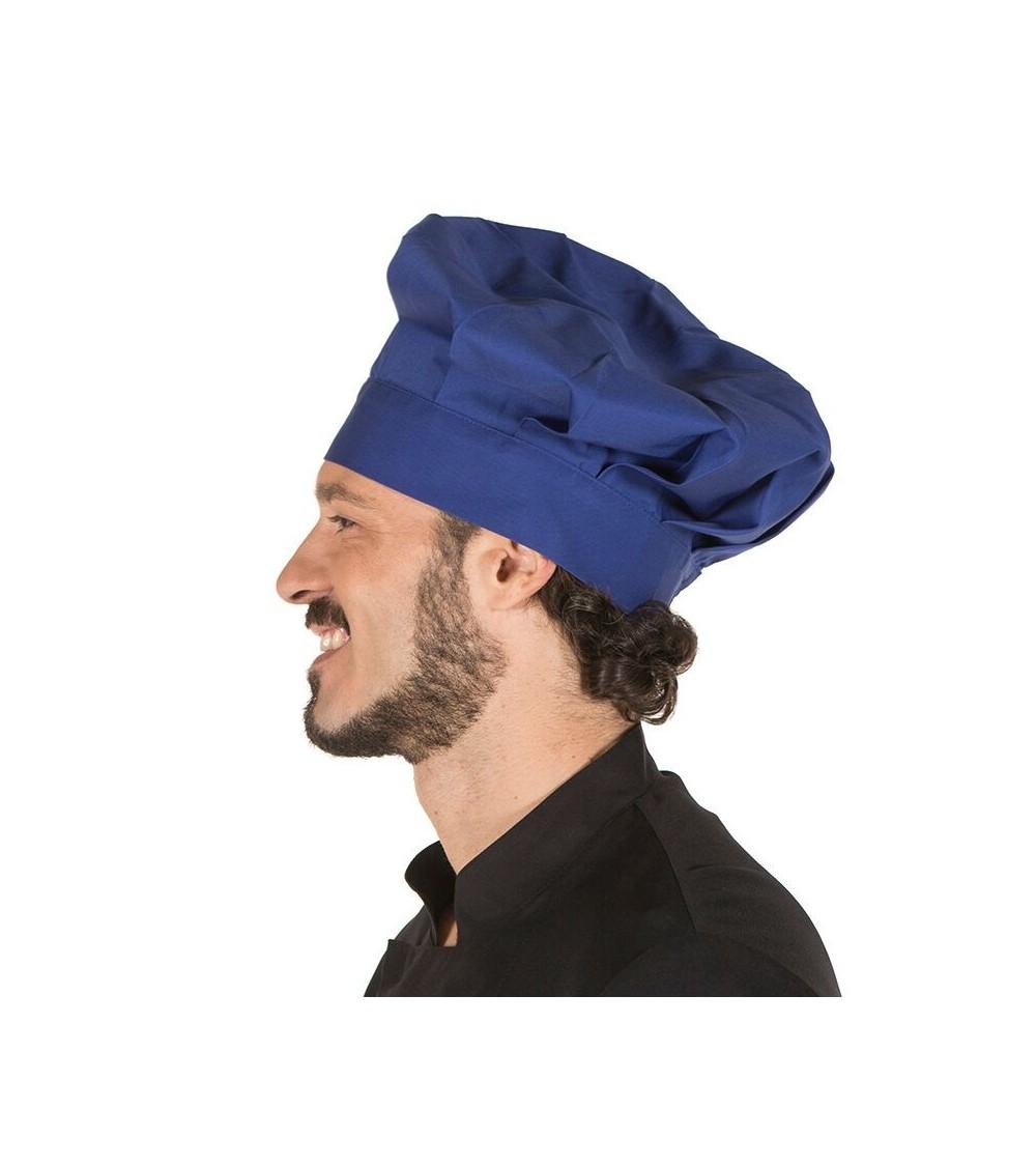 Gorro Cocinero Colores Azulina
