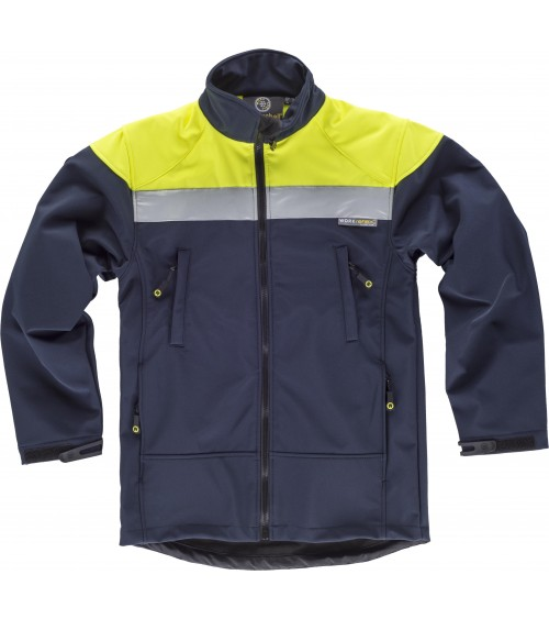 CHAQUETA WORKSHELL AJUSTABLE
