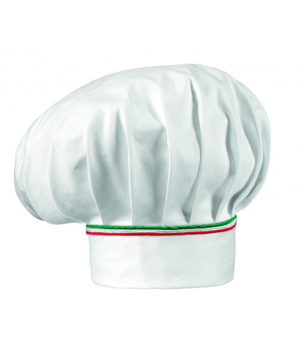 Gorro Chef Italy Piping