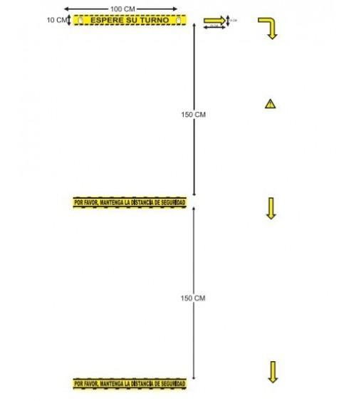 KIT FLECHAS Y SEÑALES diagrama