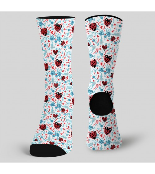 CALCETINES ESTAMPADOS Heart