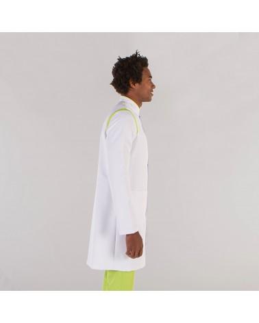 BATA MICROFIBRA HOMBRE Pistacho perfil