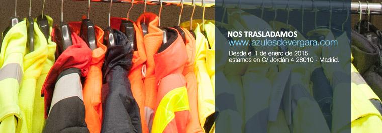Azules de vergara se traslada de Fuencarral 150 Madrid a Jordán 4 Madrid